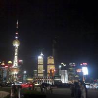 상하이 와이탄 야경